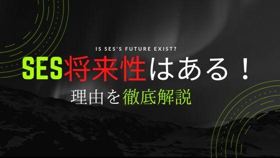 SESに将来性はあります